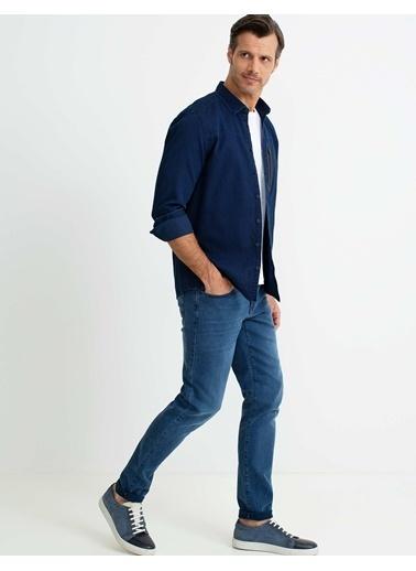 Pierre Cardin Gömlek İndigo